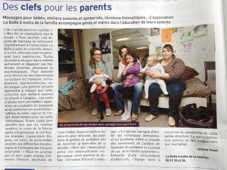 Article JDA Amiens Bao Association de Parentalité